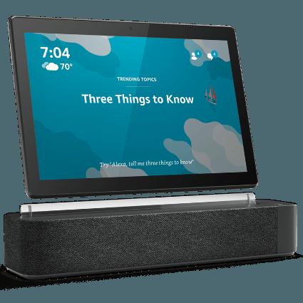 Frontansicht des Lenovo Smart Tab M10