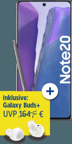 Samsung Galaxy Note20 bei 1&1