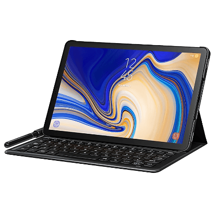 Samsung Galaxy Tab S4 mit Book Cover Keyboard bei 1&1