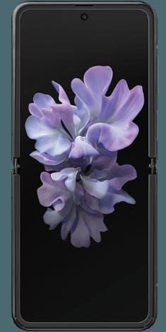 Frontansicht des Samsung Galaxy Z Flip