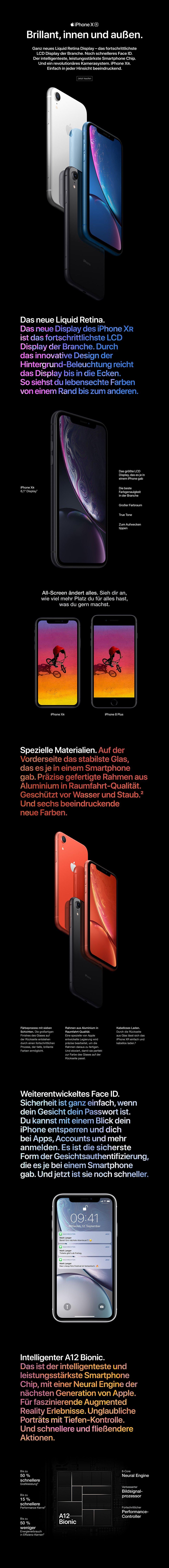 iPhone XR mit Vertrag bei 1&1 bestellen → Zum Angebot