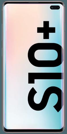 Frontansicht des Samsung Galaxy S10+