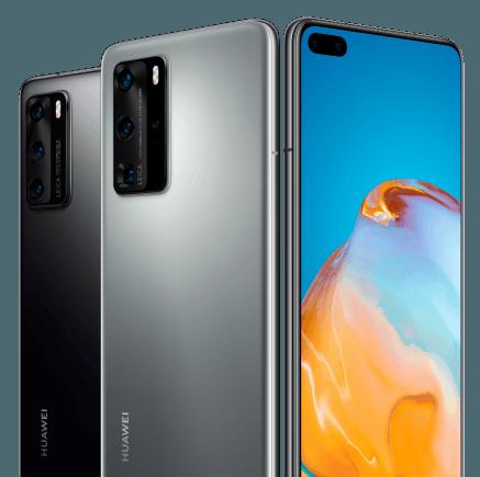 Huawei Handys im Überblick bei 1&1