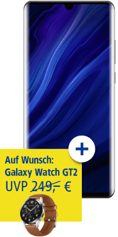 HUAWEI P30 Pro New Edition mit HUAWEI Watch GT2 bei 1&1