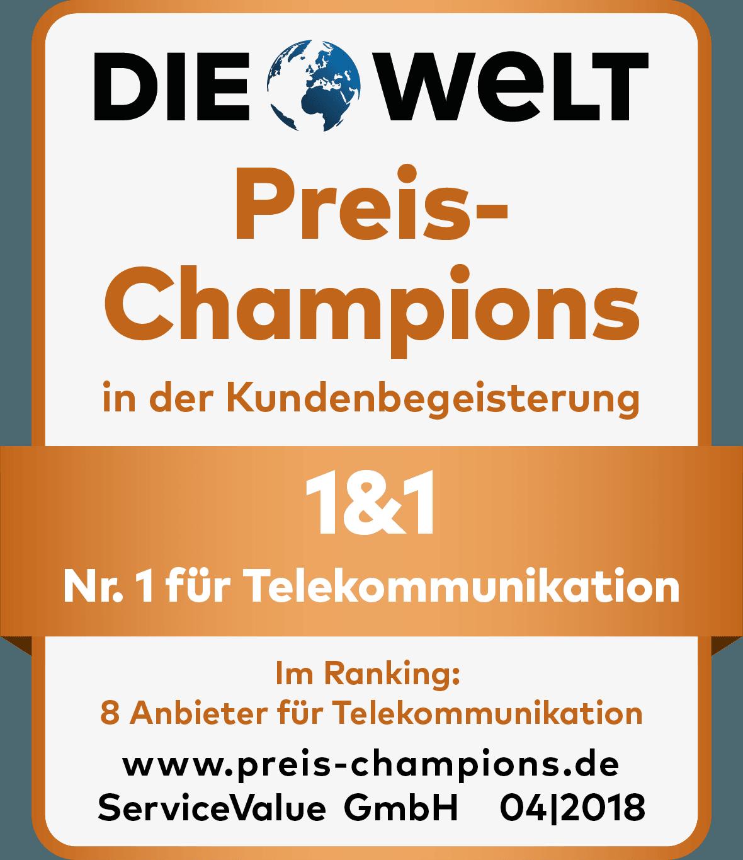 Preis Champions 2018