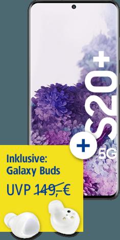 Samsung Galaxy S20+ 5G bei 1&1