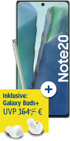 Samsung Galaxy Note20 bei 1&1