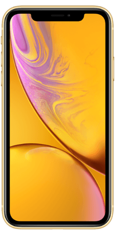 Frontansicht des iPhone XR