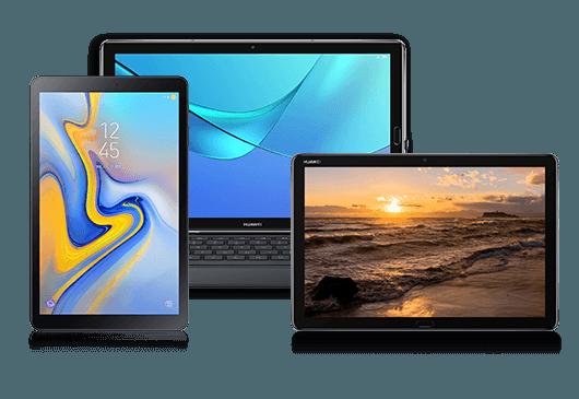 Top-Tablets mit Vertrag günstig bei 1&1 bestellen