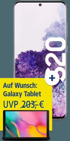 Samsung Galaxy S20 mit Galaxy Tab A 10.1 bei 1&1