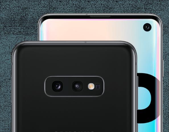 Die Triple-Kamera im Samsung Galaxy S10 mit Vertrag