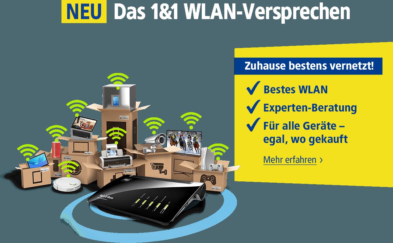 1&1 Wlan-Versprechen