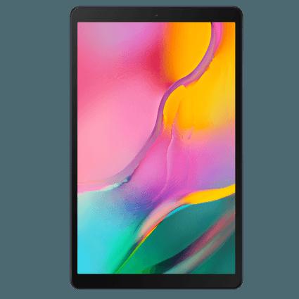 Frontansicht des Samsung Galaxy Tab A 10.1 (2019)