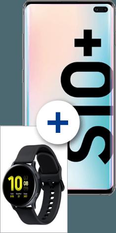 Samsung Galaxy S10+ mit Galaxy Watch Active2 40mm bei 1&1