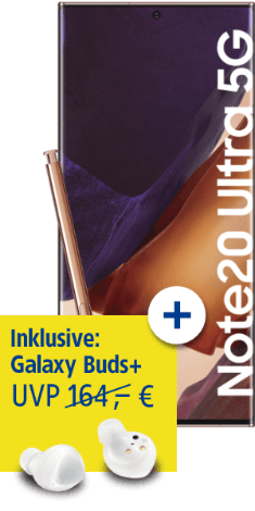 Samsung Galaxy Note20 Ultra 5G bei 1&1