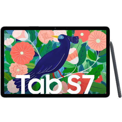 Samsung Galaxy Tab S7 + Samsung Book Cover Keyboard bei 1&1
