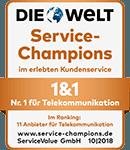 Service Champions 2018