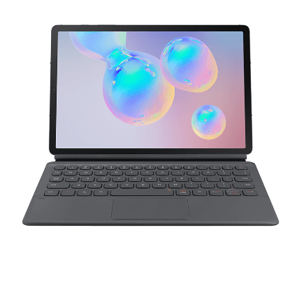 Samsung Galaxy Tab S6 mit Keyboard Cover bei 1&1