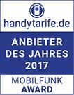 handytarife.de Vergleichstest Mobilfunk 2017