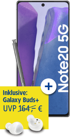 Samsung Galaxy Note20 5G bei 1&1