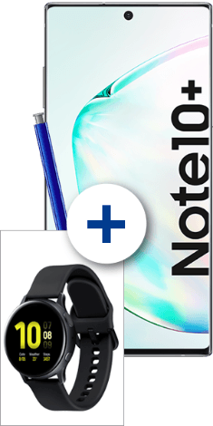 Samsung Galaxy Note10+ + Galaxy Watch Active2 bei 1&1