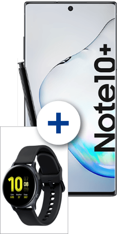 Samsung Galaxy Note10+ mit Galaxy Watch Active2 bei 1&1