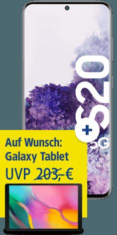 Samsung Galaxy S20 5G mit Samsung Galaxy Tab A 10.1 bei 1&1