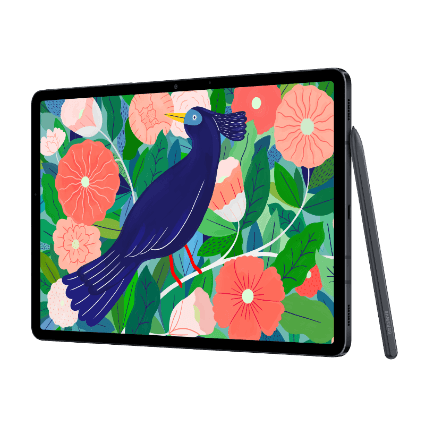 Samsung Galaxy Tab S7 mit Samsung Book Cover Keyboard bei 1&1