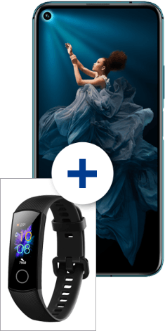 HONOR 20 Pro mit HONOR Band 5 bei 1&1