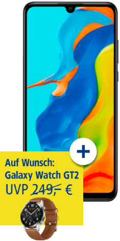 HUAWEI P30 lite New Edition mit HUAWEI Watch GT2 bei 1&1